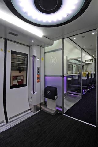 Express Class interior