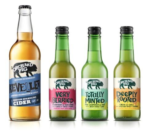 fruit cider line-up