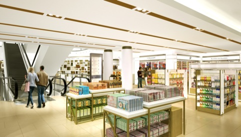 New John Lewis beauty hall GP Studio