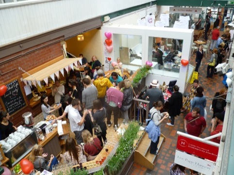 people having fun at Manchester Craft and Design Centre