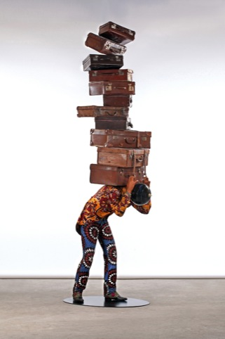 Yinka Shonibare, Homeless Man, 2012