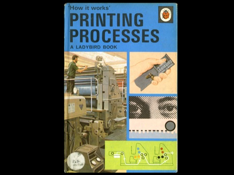 The Ladybird Printing Processes book
