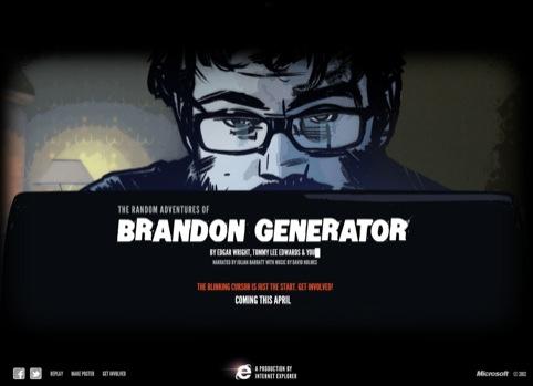 Brandon Generator home page