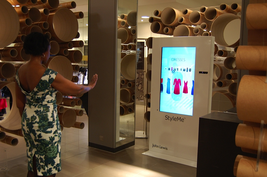 The Team And Cisco Develop Virtual Mirrors For John Lewis Design Week