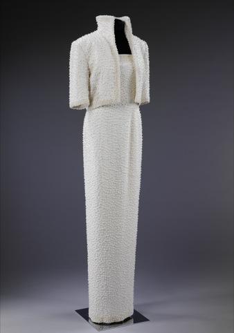 State evening ensemble 'Elvis Dress' , Catherine Walker 1989