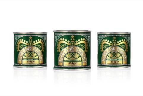 Happy and Glorious special edition Lyle's Golden Syrup