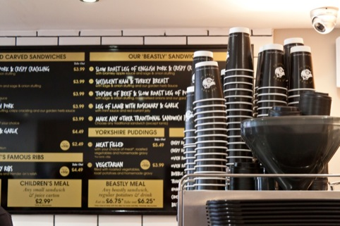 Robot Food has also designed additions to the menu