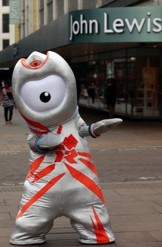 Olympic mascot Wenlock