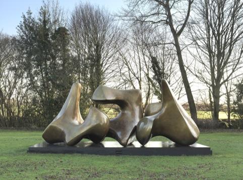 Three Piece Sculpture Vertebrae,  1968