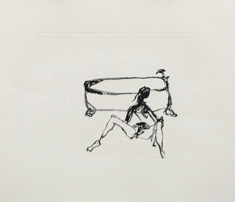 Sketch by Tracey Emin