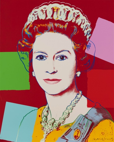The Queen, by Andy Warhol