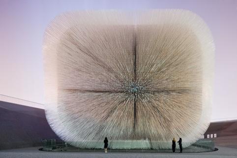 UK Pavilion Seed Cathedral, Shanghai Expo, China 2010