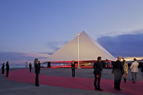 Pavilion Cannes Elevated Pyramid