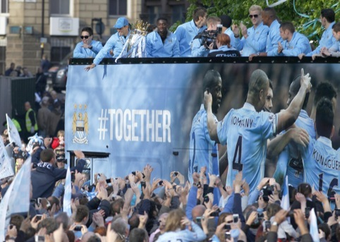 Manchester City's title parade