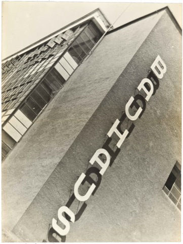 Iwao Yamawaki, Bauhaus Building, 1930 - 32