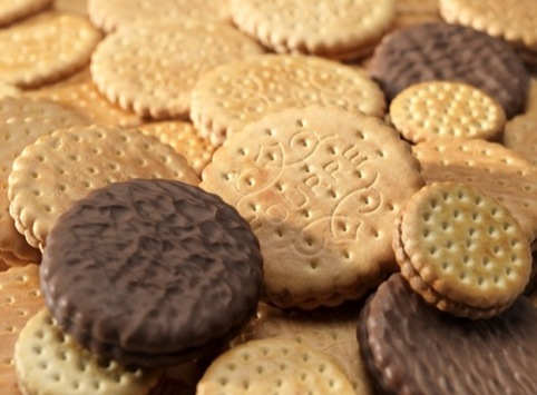 Yum. Lots of lovely biscuits