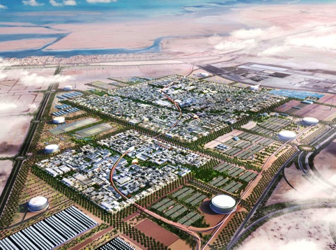 Masdar City by Foster + Partners in the UAE