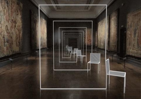 Mimicry Chairs, by Oki Sato of Nendo