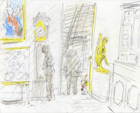 Sketchbook Drawing 3, Helen Stephens