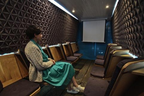 Floating Cinema by Studio Weave 2011