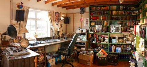 A virtual recreation of John Peel's studio