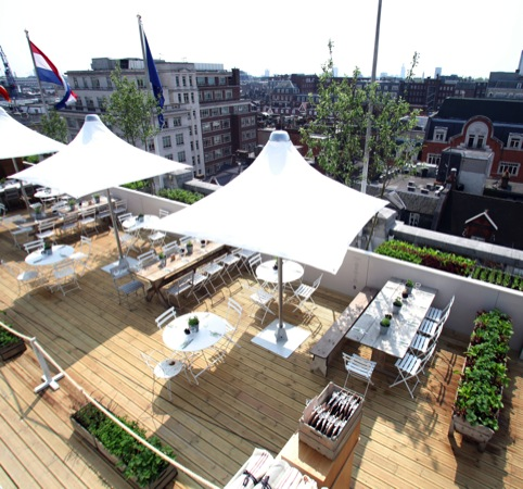 The Big Rooftop Tea and Golf Party