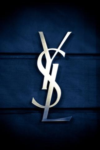 current Yves Saint Laurent logo