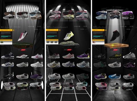 Adidas Virtual Footwear Wall and AdiZero miCoach F50 Campaign, by Start JudgeGill