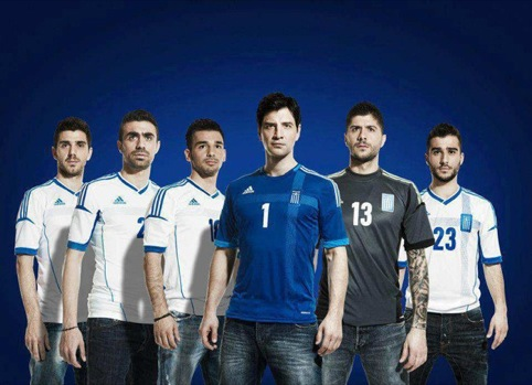 Greece shirt by Adidas