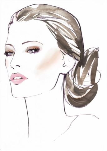 Sports Chic make-up design by Max Factor for athlete and presenter escorts