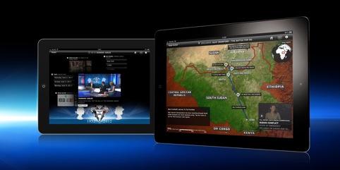 Sky News for iPad, by Sky Creative