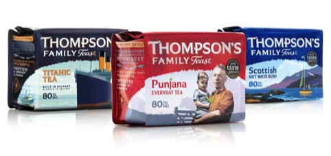 Thompson's Tea range