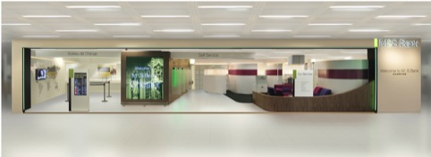 M&S Bank interior