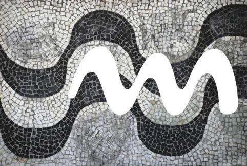 'M', and the Copacabana pavement