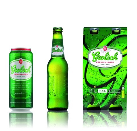 New Grolsch look designed by Cartils