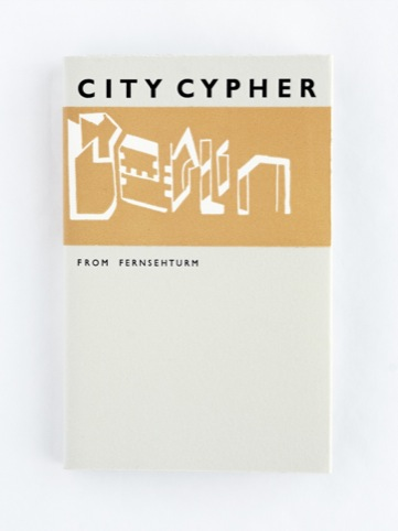 Berlin guide book front cover