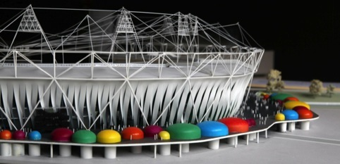 London Olympic Stadium Model