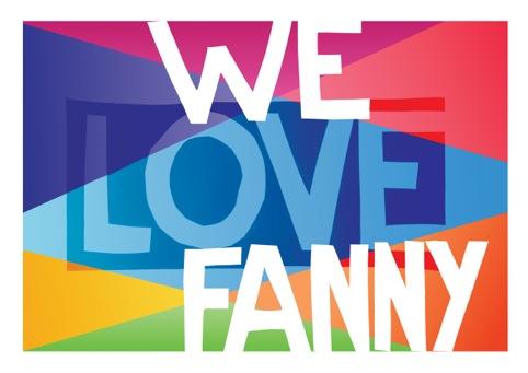 Quiet British Accent's I Love Fanny print