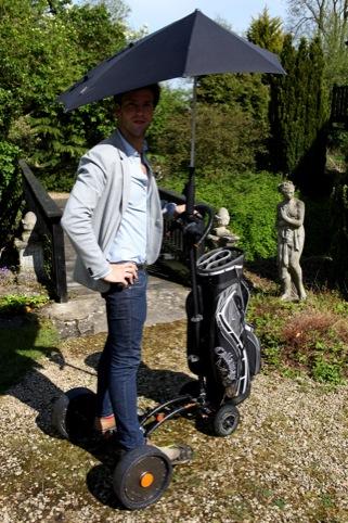 Rolley Golf. Hop on golf trolley by Arnold Du Toit