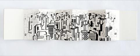 Sao Paulo guide book illustration