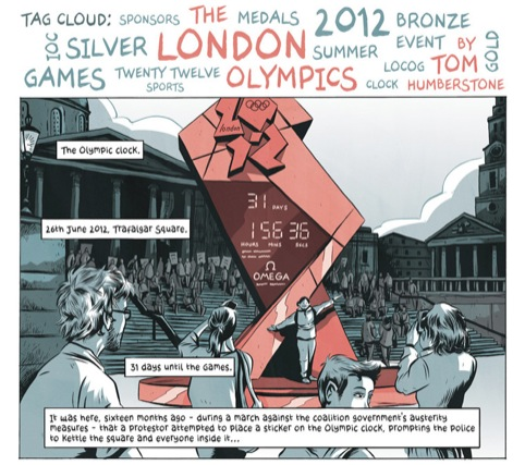 The London Olympics by Tom Humberstone