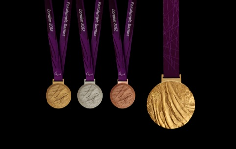 The Paralympic medals
