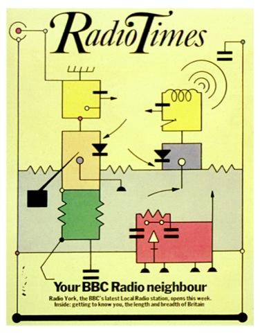 Radio Times cover feature June 30 1983 illustrating launch of Radio York to convey 'neighbourhood radio'