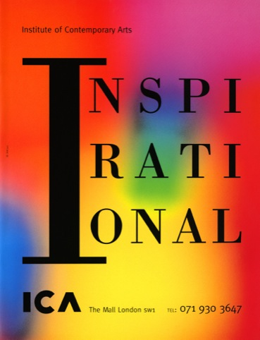Press advert for Institute of Contemporary Arts (1991)