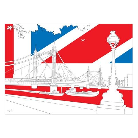 Albert Bridge - Leon Dufour