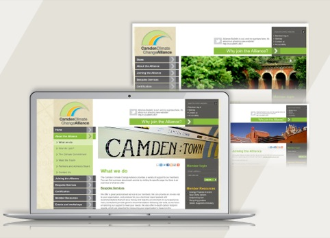 Camden Climate Change website