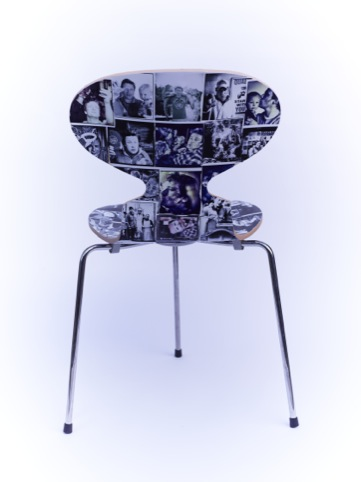 Jamie Oliver and David Loftus' chair