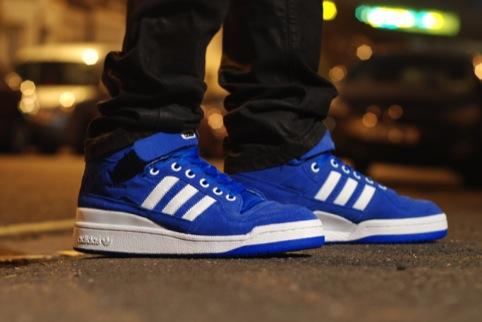Adidas mid-tops