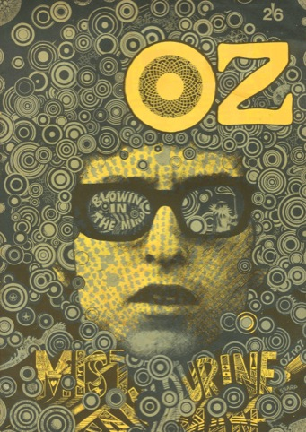 Oz, Martin Sharp et al., 1967 to 1973, Oz Publications Ink Ltd, UK / Oz 7, 'Blowing in the Mind', October 1967