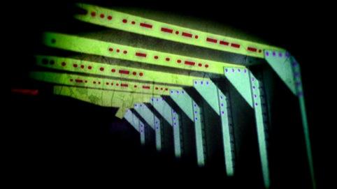 light projection mock-up